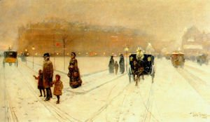 Frederick Childe Hassam - A City Fairyland