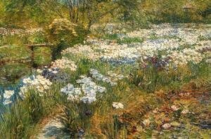 Frederick Childe Hassam - The Water Garden