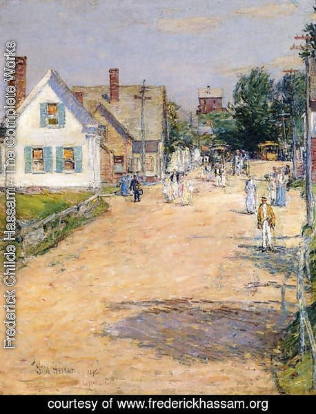 Frederick Childe Hassam - East Gloucester, End of Trolly Line