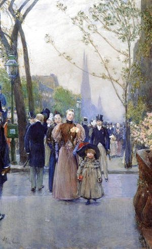 Frederick Childe Hassam - Fifth Avenue