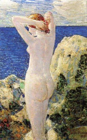Frederick Childe Hassam - The Bather