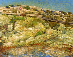 Frederick Childe Hassam - Walk Around the Island