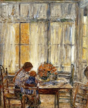 Frederick Childe Hassam - The Children