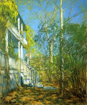 Frederick Childe Hassam - Summer at Cos Cob