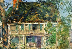 Frederick Childe Hassam - The Brush House