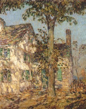 Frederick Childe Hassam - Sunlight on an Old House, Putnam