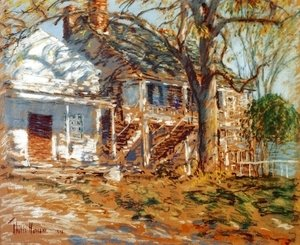 Frederick Childe Hassam - The Brush House I