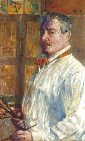Frederick Childe Hassam - Self Portrait