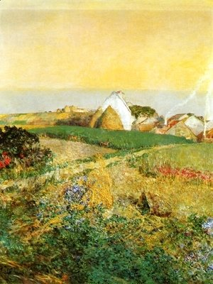 Frederick Childe Hassam - Villiers le Bel