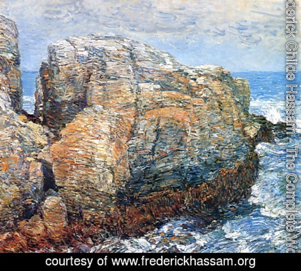 Frederick Childe Hassam - Sylph's Rock, Appledore