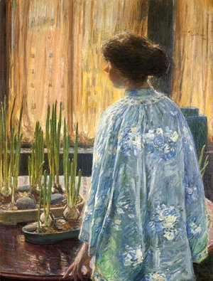 Frederick Childe Hassam - The Table Garden