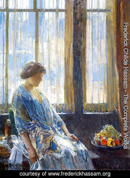 Frederick Childe Hassam - The New York Window