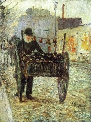 Frederick Childe Hassam - Old Bottle Man