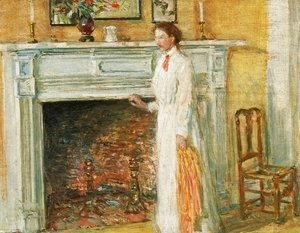 Frederick Childe Hassam - The Mantle Piece