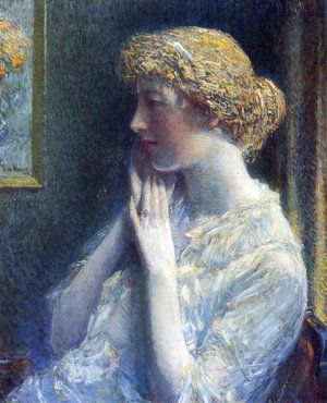 Frederick Childe Hassam - The Ash Blond
