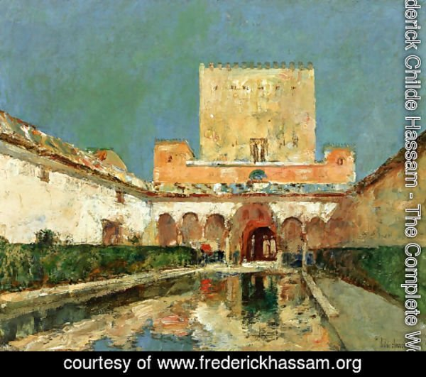 Frederick Childe Hassam - The Alhambra