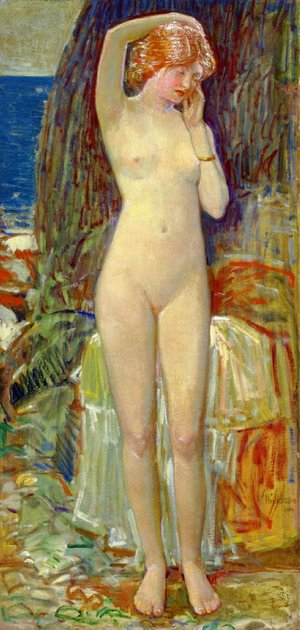 Frederick Childe Hassam - The Nymph of Beryl Gorge
