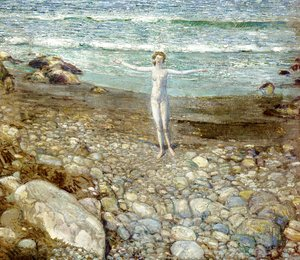 Frederick Childe Hassam - Incoming Tide