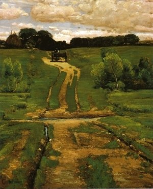 Frederick Childe Hassam - A Back Road