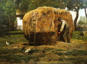 Frederick Childe Hassam - The Barnyard