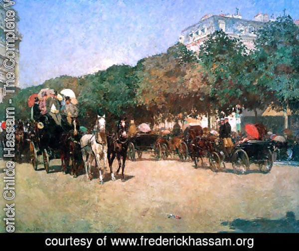 Frederick Childe Hassam - Grand Prix Day