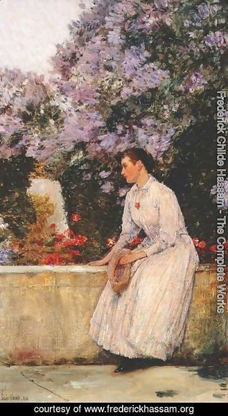 Frederick Childe Hassam - In the Garden