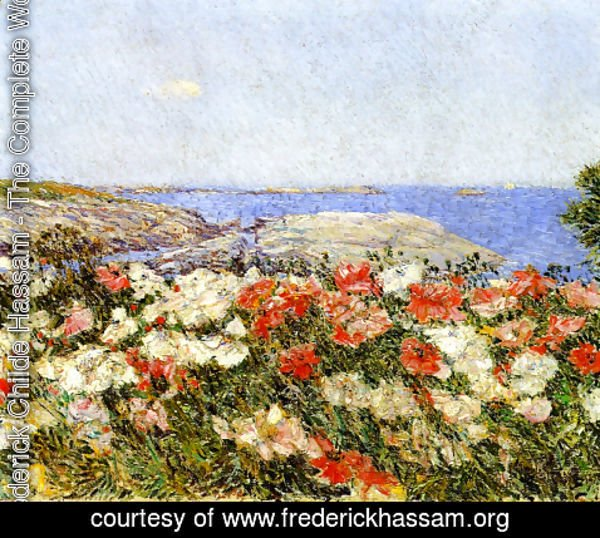 Frederick Childe Hassam - Poppies on the Isles of Shoals