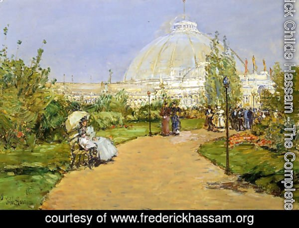 Frederick Childe Hassam   Horticultural Building, Worldu0027s Columbian  Exposition, Chicago