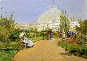 Frederick Childe Hassam - Horticultural Building, World's Columbian Exposition, Chicago