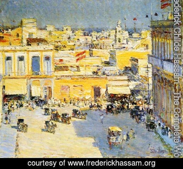 Frederick Childe Hassam   Havana