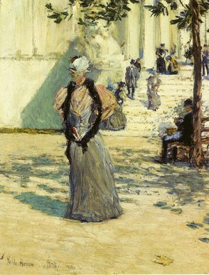 Frederick Childe Hassam - Figures in Sunlight
