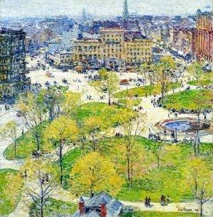 Union Square In Spring