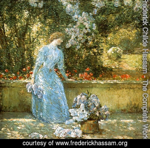 Frederick Childe Hassam - Lady in the Park