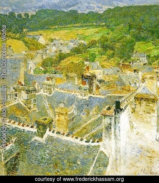 Rooftops: Pont-Aven