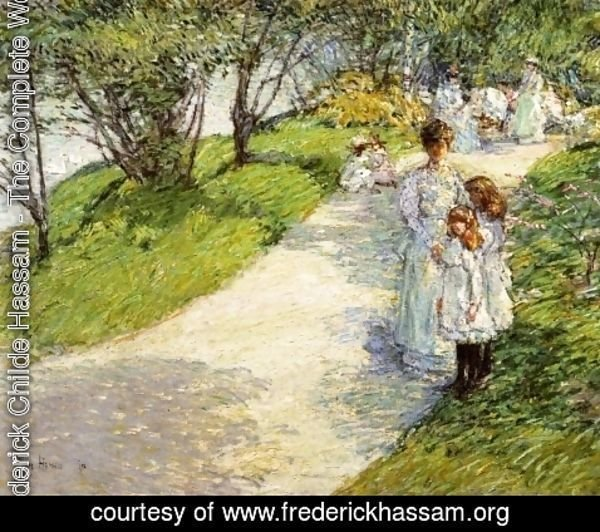 Frederick Childe Hassam - In Central Park