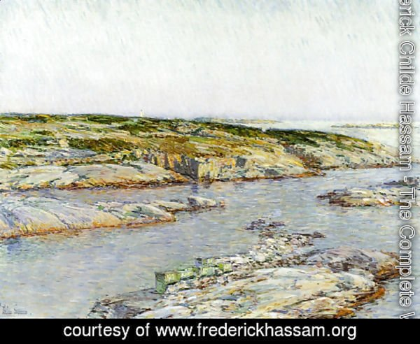 Frederick Childe Hassam - Summer Afternoon, Isles of Shoals