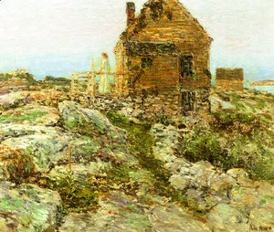 Frederick Childe Hassam - The Norwegian Cottage