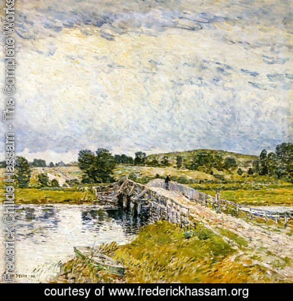 Frederick Childe Hassam - Old Lyme Bridge