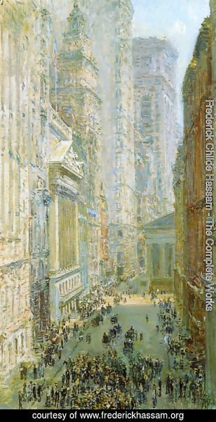 Frederick Childe Hassam - Lower Manhattan