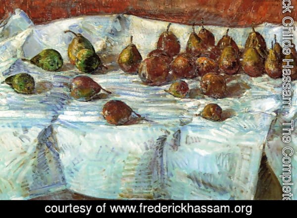 Frederick Childe Hassam - Winter Sickle Pears