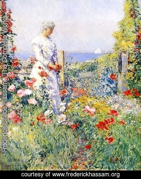Frederick Childe Hassam - In the Garden I