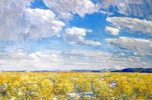 Frederick Childe Hassam - Afternoon Sky, Harney Desert