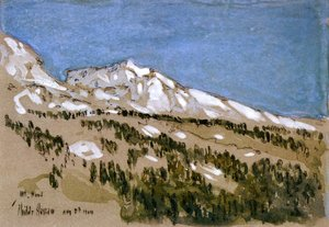Frederick Childe Hassam - Mt. Hood (Oregon)