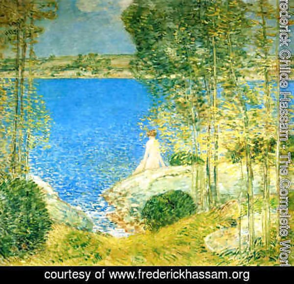 Frederick Childe Hassam - The Bather I