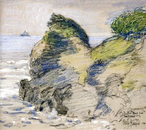 Frederick Childe Hassam - Oregon Coast