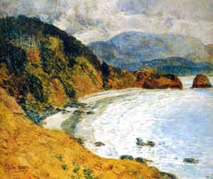 Frederick Childe Hassam - Ecola Beach, Oregon
