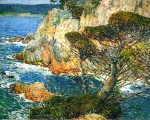 Frederick Childe Hassam - Point Lobos, Carmel
