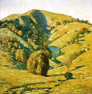 Frederick Childe Hassam - Hill of the Sun, San Anselmo, California