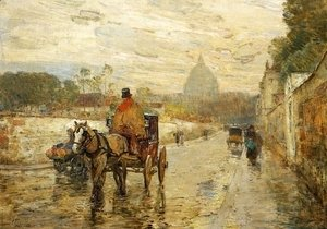 Frederick Childe Hassam - The Val de Grace, Spring Morning