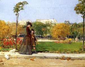 In the Park, Paris